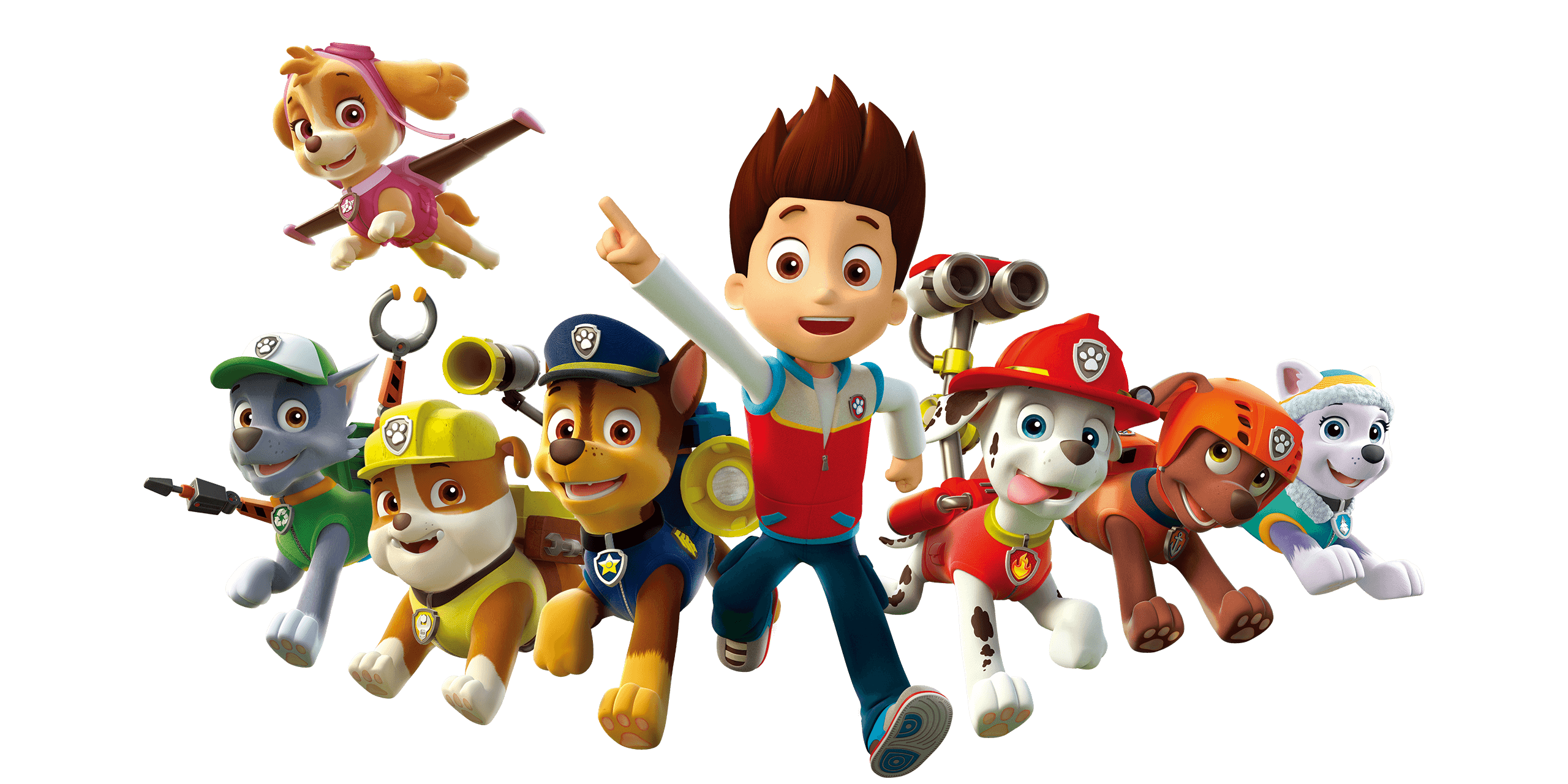 PAW Patrol home characters
